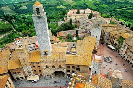 Towers town of San Gimignano