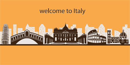 Welcome to Italy banner