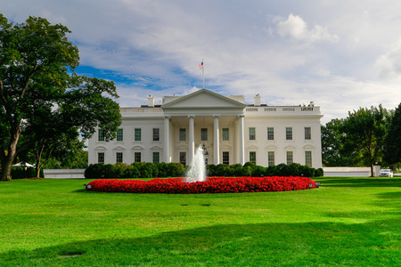 washington landscape: The White House, Washington DC,USA Editorial