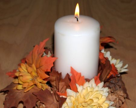Thanksgiving bougie Banque d'images - 275762