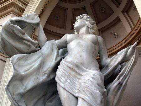 Statue at Las Vegas hotel