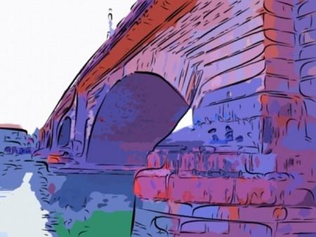 London bridge  イラスト・ベクター素材