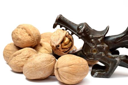 nutcracker: walnuts and vintage Nutcracker