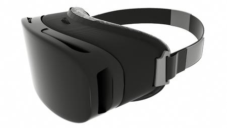 VR Glasses, Isolated On White Background. 3D Render.