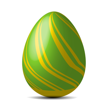 Easter egg design. Holidays in April. Seasonal celebration.