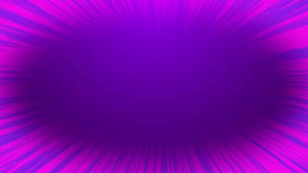 Comic speed radial purple background. Manga speed frame.