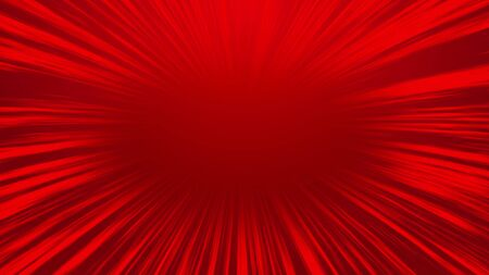 Abstract red comic radial speed line background, cartoon background. Zdjęcie Seryjne - 125338453