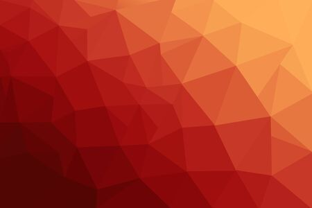 Abstract polygonal mosaic background. Multicolor low poly gradient background. Crystal polygon background. Red polygon background.