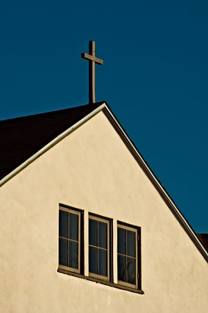 Church in Old Town, San Diego, California
