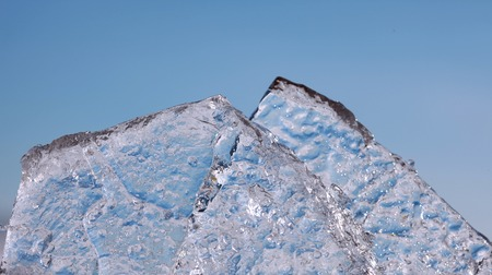 surface closeup: The texture of the ice surface closeup