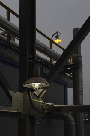 fireproof: led fireproof street night industrial lantern at factory