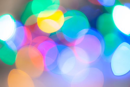 many beautiful abstract colorful glare, abstract background Stock Photo
