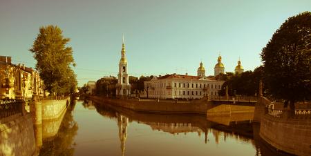 st  petersburg: St. Nicholas Orthodox Cathedral in St. Petersburg Russia