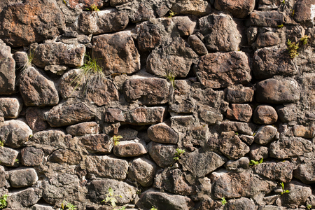 stonemason: Background. The stone wall closup