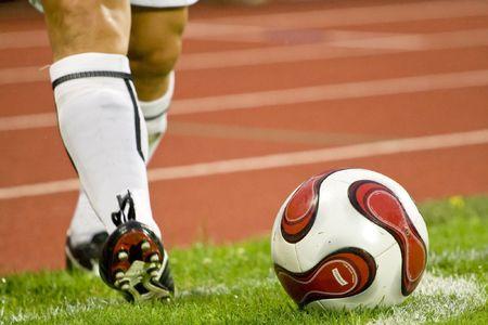 soccer or football Reklamní fotografie