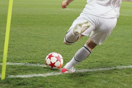 fotbal rohový kop