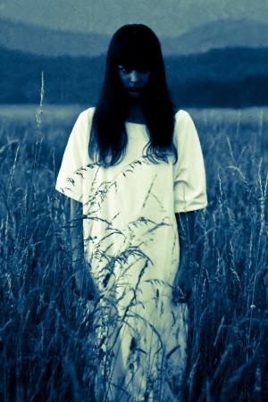 ghost in field