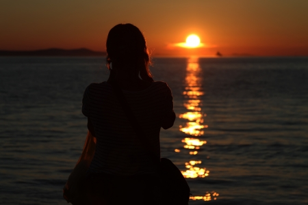 Sonnenuntergang Standard-Bild - 15233542