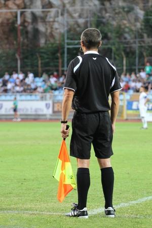 Rijeka, Croatia - 13.srpna fotbalový zápas mezi