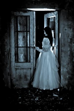 Horror Scene of a Scary Woman - Bride