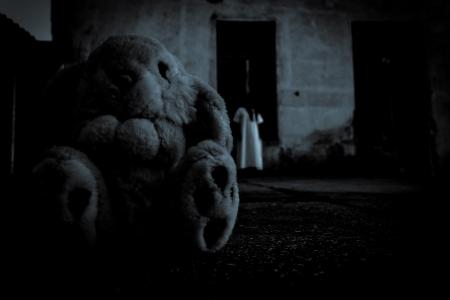Horror Scene von einem Scary Frau Standard-Bild - 18206983