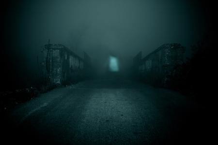 Horror scene of a scary woman Reklamní fotografie