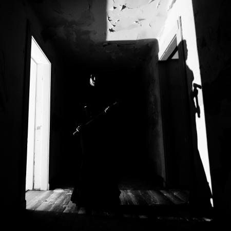 Horror scéna Scary Woman