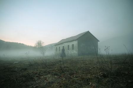 lunatic: Horror Scene of a Scary Woman