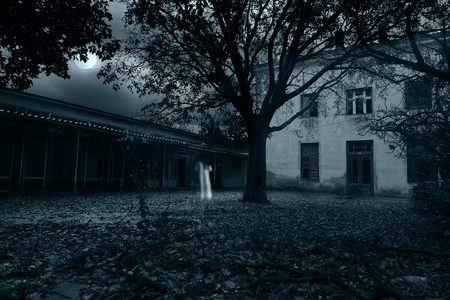 thriller: Ghost apparitions Stock Photo