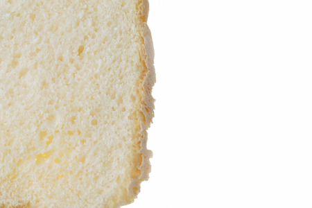 leavening: Homemade bread, slice, background