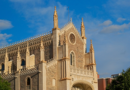 Historic buildings Cathedral, church of Madrid Stock Photo - 14145596