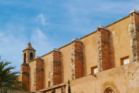 Historic  buildings with lace fronts Spain Stock Photo - 15902764