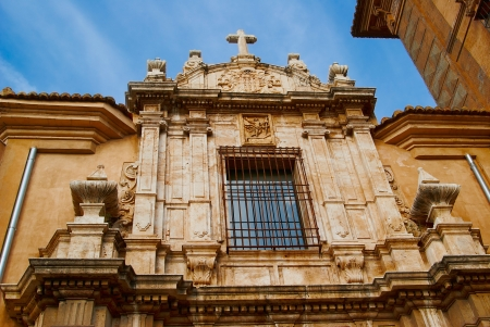 Historic  buildings with lace fronts Spain Stock Photo - 15902769