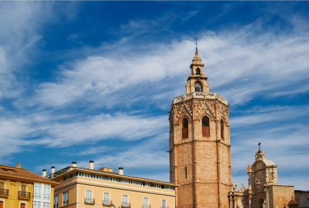 fronts: Historic  buildings with lace fronts Spain