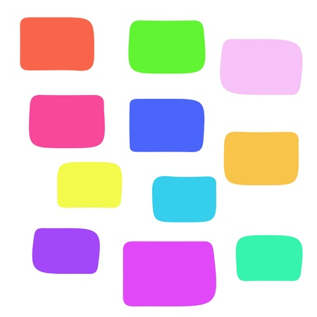 coloring background with square blocks