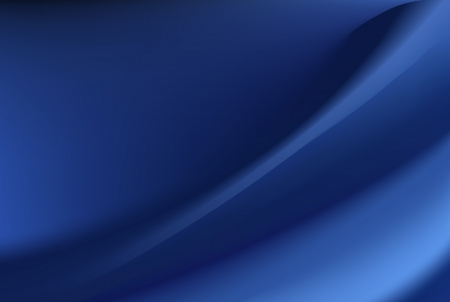satiny cloth: Blue silk background with some soft folds and highlights horizontal Illustration