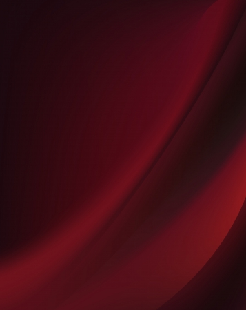 artsy: Red silk background with some soft folds and highlights horizontal Illustration
