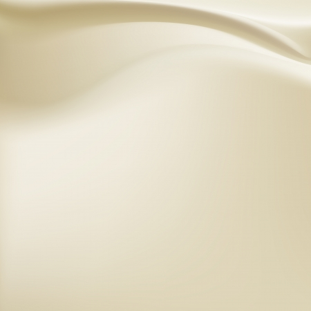beige milky silk background with some soft folds horizontal Illustration