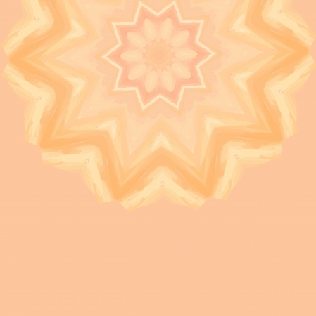 Pink decorative beautiful flowering abstract light green background Vector