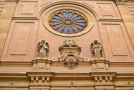 Valencia, Spain, facade of the Cathedral Church  Historic  buildings  photo