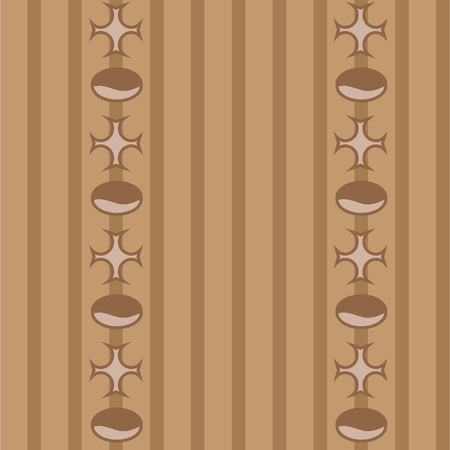 coffee beans white background:  the Brown coffee pattern vintage Illustration