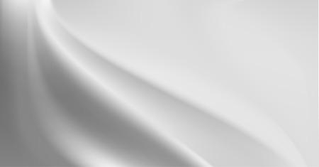 silky velvet: Grey silk background with some soft folds