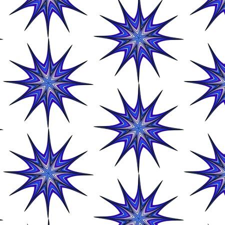 azure: Abstract fashionable figure  blue, azure, turquoise, aquamarine floral colorful ethnic ornament kaleidoscope