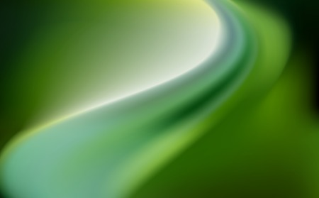 ruffles: green emerald silk background with some soft folds