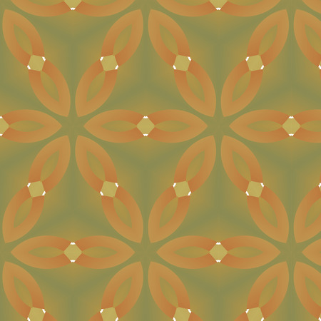 postmodern: Abstract background, composed of yellow, brown seamless pattern Illustration