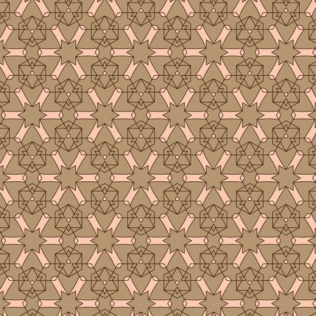 Abstract background composed  brown and shades of beige Vector