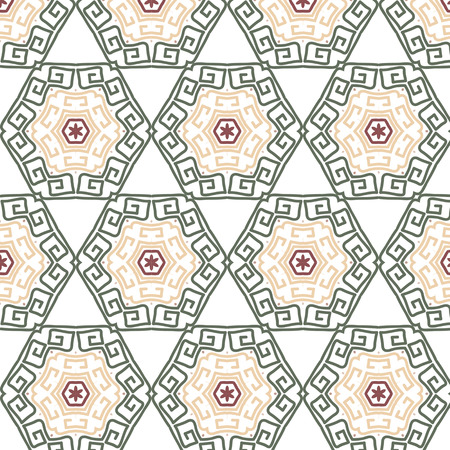 connection block: Lace  floral colorful vintage color ethnic ornament  seamless pattern flower