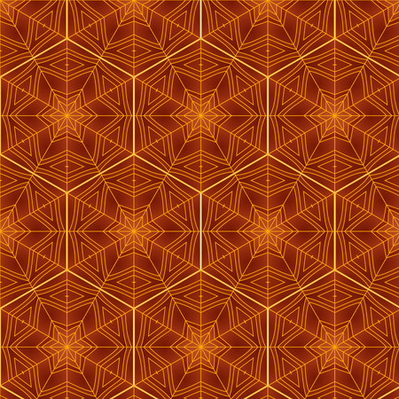 connection block: Abstract background ornament geometric vintage seamless pattern Illustration