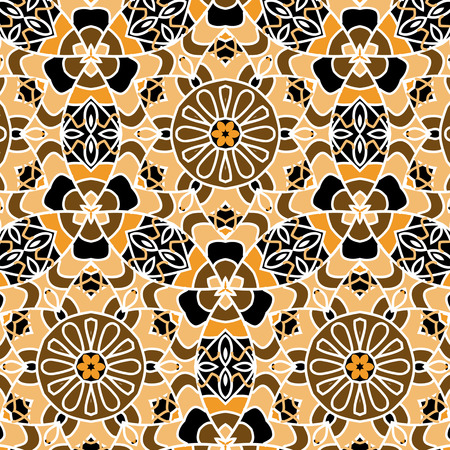 primitive: Primitive simple retro seamless pattern mosaic