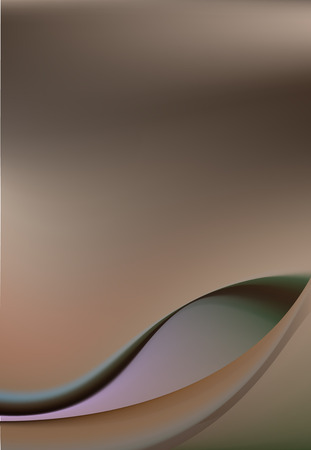 couleur de peau: Soie �l�gant, fond abstrait de la couleur de la peau d�licate. Courbes de tissu ressemblant � la silhouette f�minine Illustration